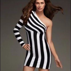 Kardashian Kollection One Shoulder Dress MEDIUM